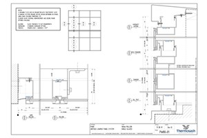 CAD Download - PW80 - 100mm Mullion Single Glazed