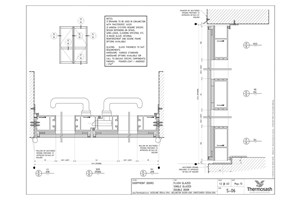 CAD Download - SF100 Double Door - Flush Single Glazed