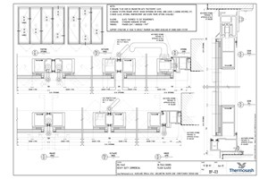CAD Download - Delta 40 Commercial - Bi Fold Flush Glazed Door