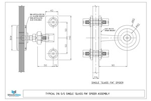 CAD Download - One Arm Fin Spider Assembly