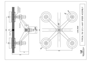 CAD Download - Four Arm Node Spider Assembly