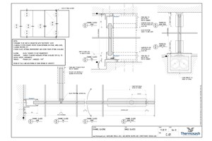 CAD Download - Channel Glazing System - Single Glazed