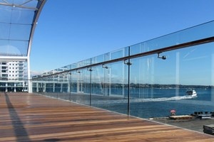 Cantilievered Glass Balustrades