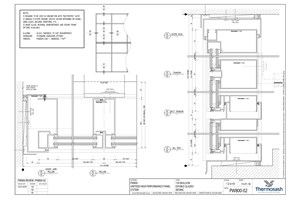 CAD Download - PW800 - 150mm Mullion Double Glazed Seismic