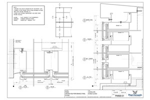 CAD Download - PW800 - 160mm Mullion Double Glazed